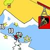 Aggresive Skiing
