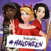 Instagirls Haloween Dress Up