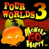 Monkey GO Happy Four Worlds 3