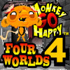 Monkey GO Happy Four Worlds 4